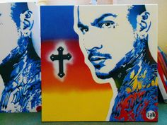original gangster custom paintingstencil by AbstractGraffitiShop, $300.00