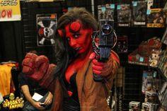 Hellboy Cosplay by Lauren See