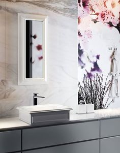 Art deco style bathroom with Eleganza Brassware #gessi #cphart #artdeco
