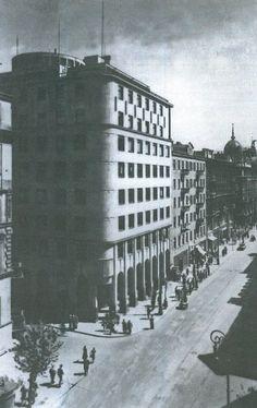 Bolesław Szmidt & Józef Vogtman, Warsaw, 1937-38