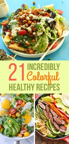 21 Insanely Colorful Meals That Are Healthy AF food clean eating food healthy food ideas food photography food plan food recipes Healthy Cooking, Healthy Dinner Recipes, Diet Recipes, Healthy Snacks, Healthy Eating, Cooking Recipes, Cooking Corn, Cooking Turkey, Healthy Dinners