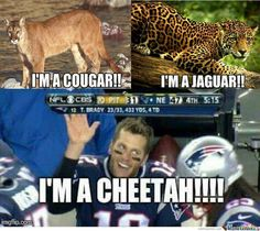 Deflate Gate *LoL* Cheetah this too much hahaha *LoL*                                                                                                                                                      More