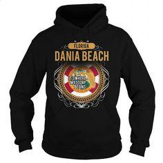 DANIA BEACH - #funny t shirts for guys. DANIA BEACH, cropped hoodie,cheap black hoodies for men. SECURE CHECKOUT => https://www.sunfrog.com/LifeStyle/DANIA-BEACH-Black-Hoodie.html?id=67911