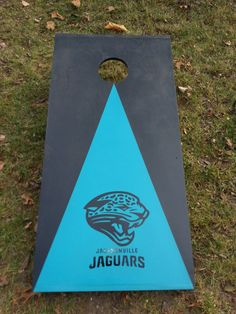 Jacksonville Jaguars Cornhole Corn hole Boards by CornholeWorld, $99.99