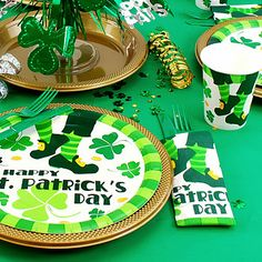 St. Patrick's Tableware