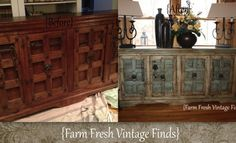 How to Get a Layered Paint Look Using Annie Sloan Chalk Paint - Farm Fresh Vintage Finds