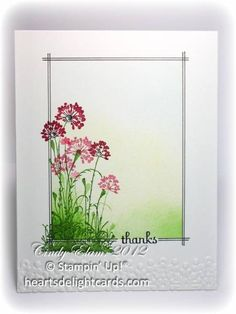 Serene Thanks by Cards4Ever - Cards and Paper Crafts at Splitcoaststampers