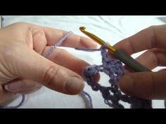Stitch Scene: How to crochet the Picot Trellis Stitch Pattern