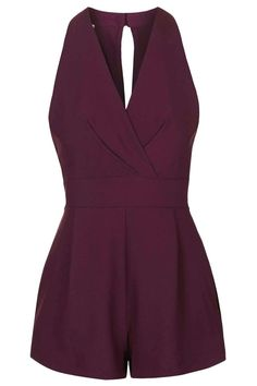 **Cross-Bust Playsuit by Love - Topshop