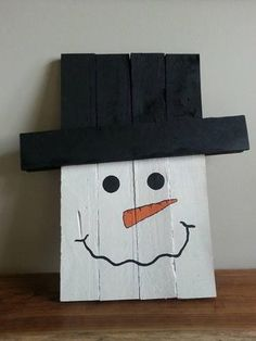 Reversible snowman scarecrow sign