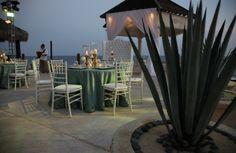 Wedding Reception Tablescapes at Grand Solmar Land's End Resort & Spa in Cabo San Lucas, Mexico. solmar.com/wedding.php #SolmarResorts #weddings #destinationwedding#beachwedding #tablescapes