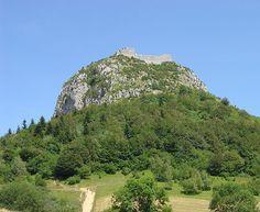 Castelo de Montségur, França.
