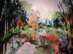 my artwork - Heidi Nuyts Acrylics on canvas 70 x 90