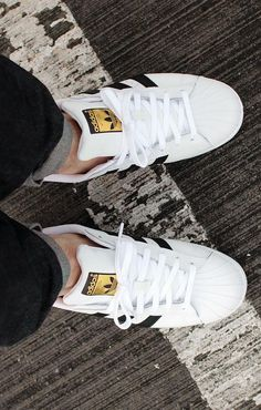 adidas Originals Superstar White Core Black. White Sneakers ... 2e2ca3f3d