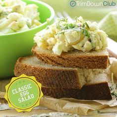 One of the top Trim Down Club recipes: Post-Easter idea for leftover eggs!