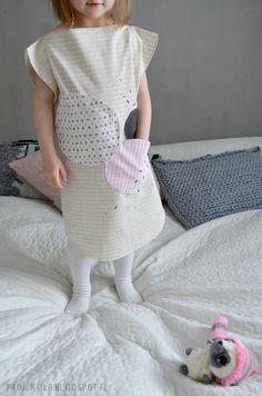 Diy dress for kids Short Sleeve Dresses, Dresses With Sleeves, Diy Dress, Sewing, Kids, Fashion, Young Children, Moda, Dressmaking