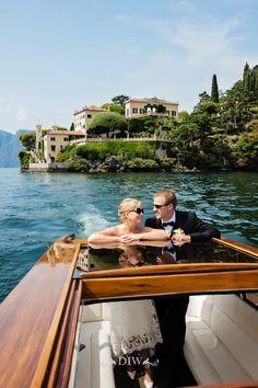 Lake Como elopement at Villa Balbianello - Distinctive Italy Weddings - Photo by Rochelle Cheever