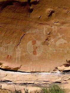 Sego Canyon Petroglyphs -- Thompson, UT -- Exit 185. 22 minutes off I-70 (15.6 miles).
