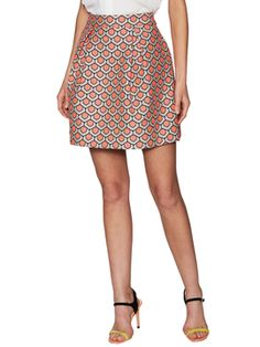 Ferne Pleated Full Skirt from Trina Turk Apparel on Gilt