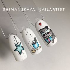 #naildesign #nailart #funnailart#animalnail #cutenail