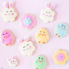 Chicka-Chicka, Bun-Bunny Cookies so cute!