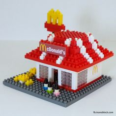 Chris's Nanoblock Blog: nanoblock McDonald's Restaurant