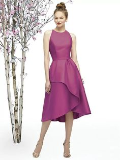 Shop our gorgeous collection of Lela Rose bridesmaid dresses and discover the ultimate combination of style and accessibility. Find the perfect Lela Rose gown from The Dessy Group! Tea Length Bridesmaid Dresses, Junior Bridesmaid Dresses, Tea Length Dresses, Wedding Party Dresses, Tea Length Cocktail Dresses, Dress Party, Bridesmaids, Prom Dresses, Lela Rose