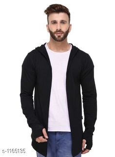 Cardigan Stylish Cotton Cardigan  *Material* Cotton  *Size* S - 38in, M - 40in, L - 42in, XL - 44in, XXL - 46 in  *Sleeves* Full Sleeve  *Type* 30in  *Fitting Type* Slim Fit  *Occasion* Casual  *Wash Care* Machine Wash. Wash with Similar color  *Sizes Available* S, M, L, XL, XXL *   Catalog Rating: ★4 (377)  Catalog Name: Full Sleeve Cotton Cardigan CatalogID_145277 C70-SC1401 Code: 243-1165135-