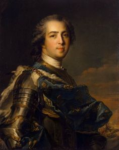 Jean-Marc Nattier. Louis XV (1745)
