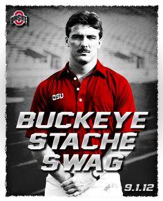 Urban Meyer back in the day #buckeyestacheswag
