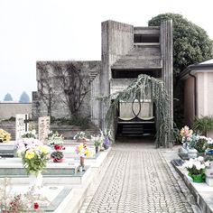 Brion Vega cemetery by Carlo Scarpa photos by Matteo Brancali