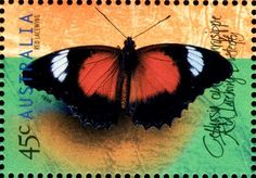 Australian Postage stamps of Australian Lepidoptera