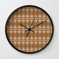 """Peering Through Wall Clock 