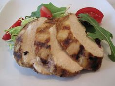 simple balsamic chicken. my 3 year old and 33 year old both love this recipe. grill or bake the chicken in the oven at 375 for 35 minutes.
