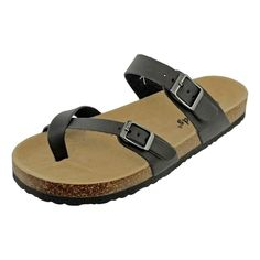 NEW KIDS GIRLS OUTWOODS SLIP-ON BRAIDED PEWTER SANDALS SIZE 1