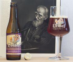 """Urthel Samaranth - Urthel Samaranth (Bierbrouwerij de Koeningshoeven - Belgique) -  grâce à """"Saveur Box"""" -  """"George Bernard Shaw"""" par Karsh"""
