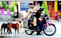 Police officer looks after 22 street dogs in his neighborhood (PHOTO) » DogHeirs | Where Dogs Are Family « Keywords: India