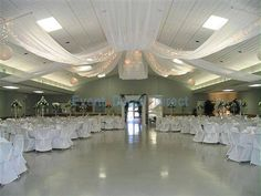 diy Wedding Crafts: Ceiling Draping Kits