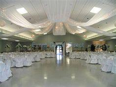 diy Wedding Crafts: Ceiling Draping Kits