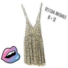 Vestido ANIMALE🐆 N°38 MARAVILHOSO com decote nas costas  De R$115 por R$89 👏👏👏👏  🆙Atendimento c ⏰marcada 📞 Whatsapp  31 8729-0249 💳 Aceitamos débito e cred  #animale #animalprint  #dress    #sexy  #luxurylife  #uohbrecho #brecho #fit #moda #instagood #pretty #blessed #girl  #love #brechoinfantil  #cool #good #cute #follow #fashion #fun #igers  #ootd #blogger #inlove #model #blog #belohorizonte #brasil