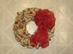 More Misadventures: Cork Wreaths