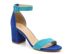 CL by Laundry Jody Sandal Women's Shoes Me Too Shoes, Mules Shoes, Women's Shoes, Golf Shoes, Blue Heels, Blue Sandals, Wedge Sandals, Dress Sandals, Heels