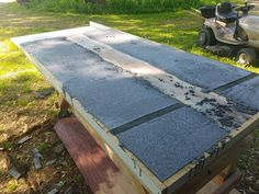 Concrete and Wood Slab Table: 6 Steps (with Pictures)