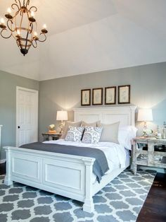 Check out this newly renovated master bedroom from Fixer Upper on HGTV.com