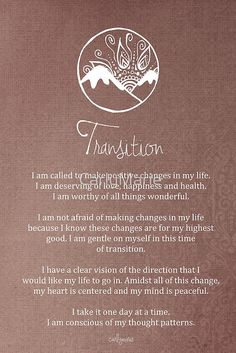 Affirmation - Transition Positive Schwingungen, Positive Vibes, Affirmations For Women, Morning Affirmations, Positive Affirmations, My Values, Core Values, Meditation Rooms, Sagrada