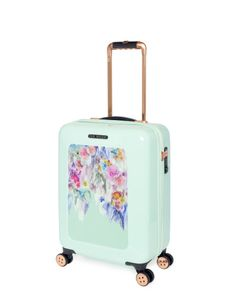 Love the floral print on this mint luggage | Ted Baker. | Our ...