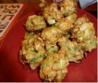 Chicken and Vegetable Indian Bites - These are really fun, loaded with vegetables and perfect with M & M Vegetable Samosas. Double the yogurt dipping sauce to have enough for both!