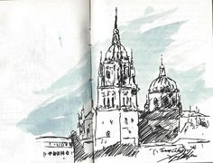SALAMANCA (España) http://cuadernosdepintor.blogspot.com.es/ MIGUEL ELIAS
