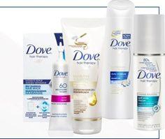 Testowanie kosmetyków Dove do włosów