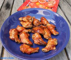 Carole's Chatter: Celebratory Chicken Nibbles – a Triumph! Cherry Brandy, Sweet Chilli Sauce, Tomato Paste, Tray Bakes, I Foods, Chicken Wings, Quotations, Stuffed Peppers, Eat